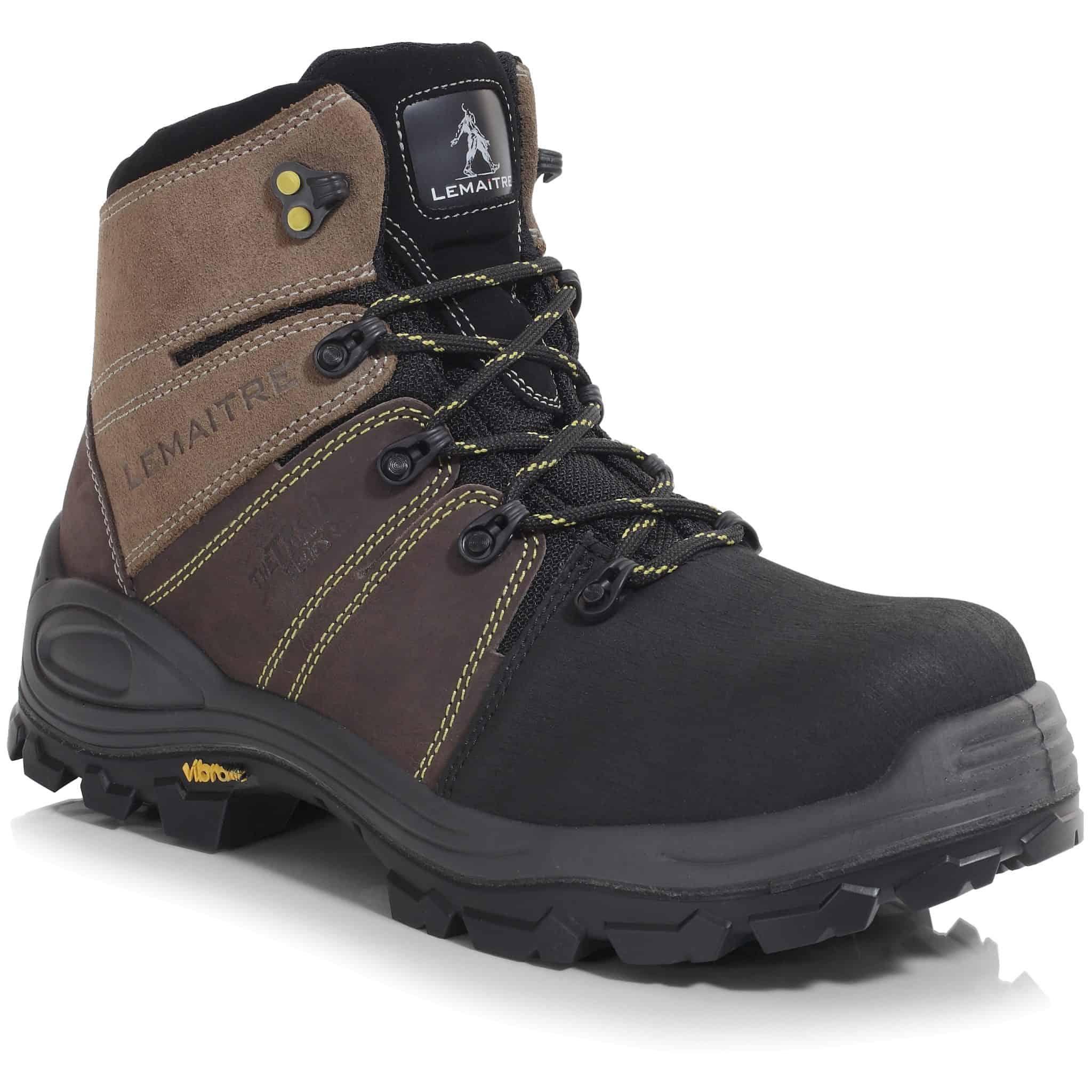 Trek Brun – Lightweight S3 SRC WR PU/Vibram Non-Metal Sympatex Waterproof Safety Hiker Boots