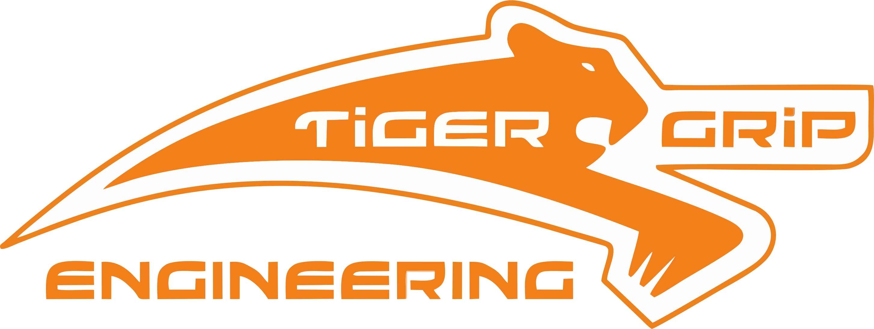 Tiger Grip Logo (Rectangle)