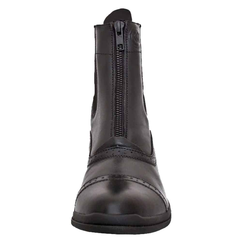HW90300-BLK - Paddock Zip Boot - Front - Left Foot (Square) 3