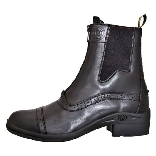 HW90300-BLK - Paddock Zip Boot - Outer Side - Left Foot (Square) 3
