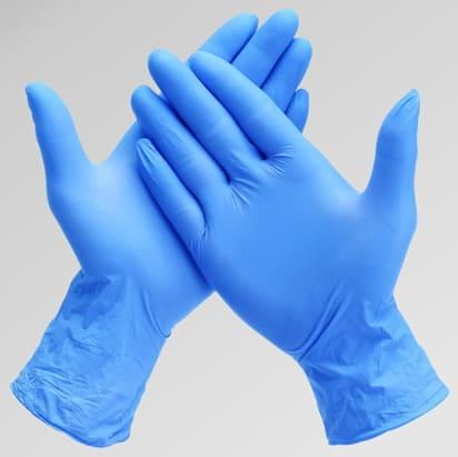 Nitrile Gloves (Square)